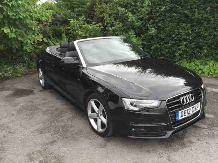 audi 2012 a5 convertible 2 0 tdi manual black 57k car for sale. Cars Review. Best American Auto & Cars Review