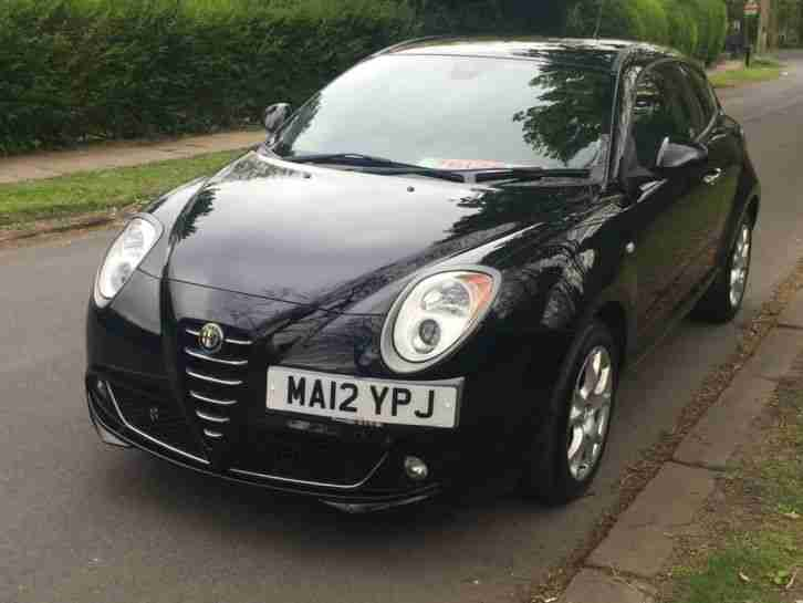 alfa romeo 2012 mito 8v sprint petrol black manual car for sale. Black Bedroom Furniture Sets. Home Design Ideas