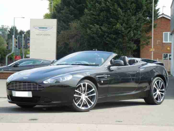 2012 Aston Martin DB9 V12 2dr Volante Touchtronic (4 Automatic Petrol Convertibl