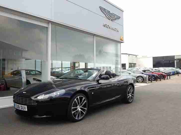 2012 Aston Martin DB9 V12 2dr Volante Touchtronic Au Automatic Petrol Convertibl