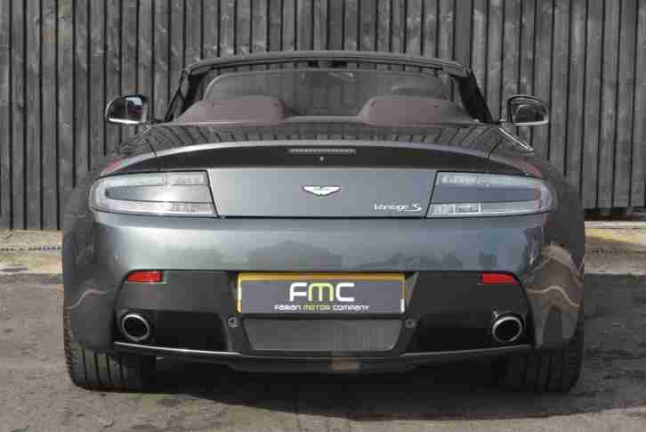 2012 Aston Martin Vantage S V8 Roadster *Full AM History - 1 Year AM Warranty*