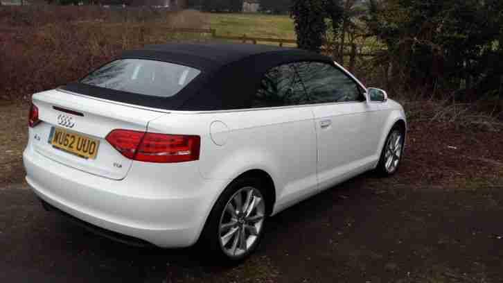audi 2012 a3 1 6 tdi sport 2dr 2 door convertible car for sale. Black Bedroom Furniture Sets. Home Design Ideas