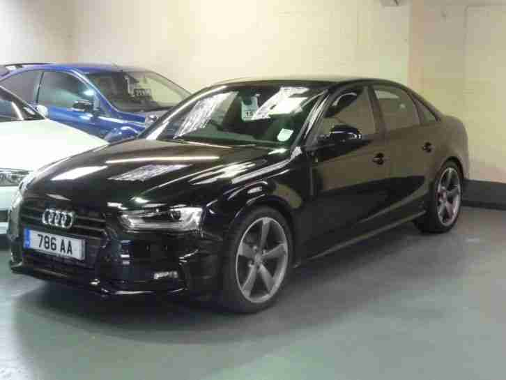 2012 Audi A4 2.0 TDI Black Edition 4dr