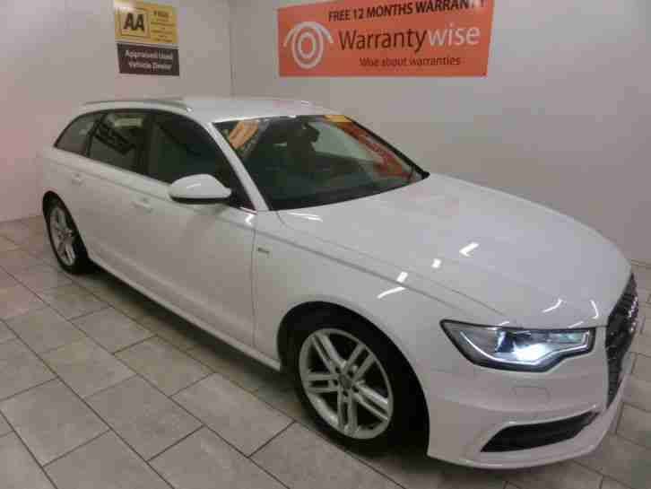 Audi 2012 A6 Avant 20tdi 177bhp 7 Speed S Line Buy For Only 69 Per