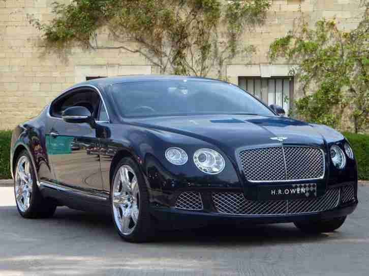 bentley 2012 continental gt 6 0 w12 mds black mulliner. Black Bedroom Furniture Sets. Home Design Ideas