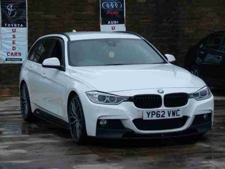 Bmw 2012 3 Series F30 330d M Sport Touring Auto White M Performance