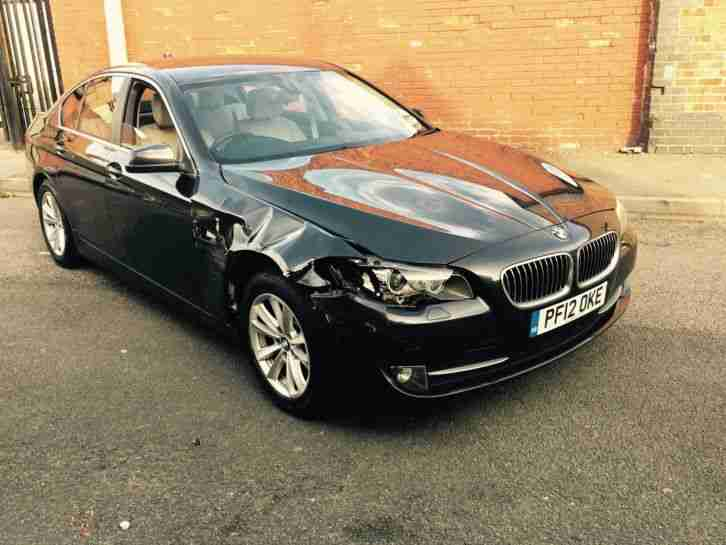 2012 BMW 5 SERIES 520d F10 DYNAMICS DAMAGED SALVAGE STARTS DRIVES VERY EASY FIX