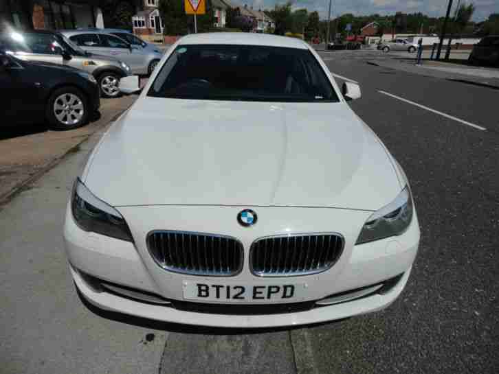 2012 BMW 520D SE AUTO WHITE 1995cc DIESEL AUTOMATIC - STUNNING CAR - 4 DOOR