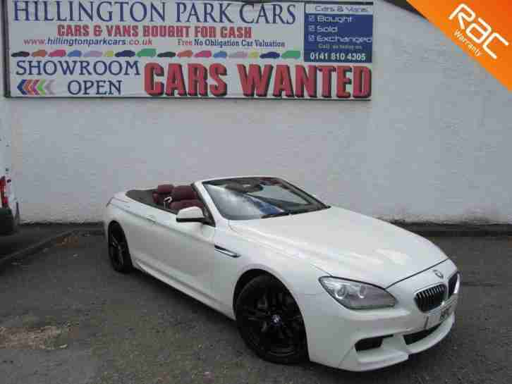 2012 BMW 640 3.0TD auto d M Sport, LOTS OF EXTRAS