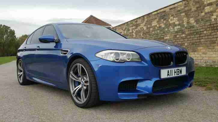 2012 BMW M5 4.4 GENUINE 48,000 MILES FBMWSH ABSOLUTELY RARE STUNNING EXAMPLE!