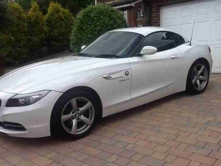 2012 Bmw Z4 2 0 Sdrive White Convertible Car For Sale