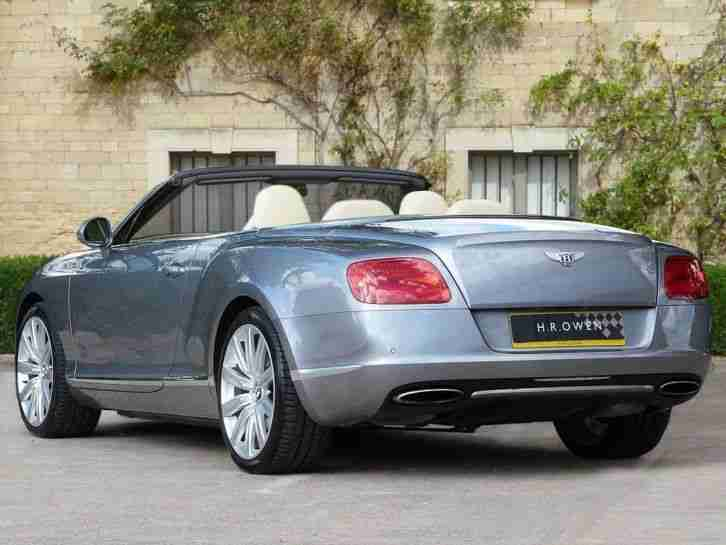 2012 Bentley Continental GTC 12/12 Petrol Automatic