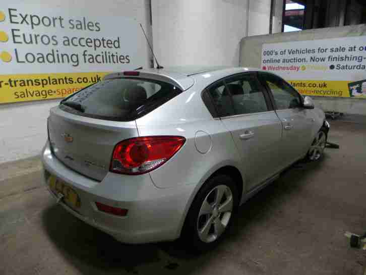 2012 Chevrolet Cruze 5Dr Breaking Engine