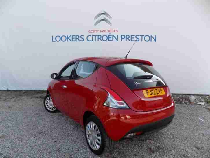 2012 Chrysler Ypsilon 1.2 S 5dr Petrol Manual