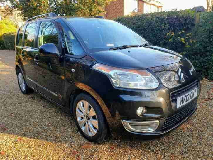 2012 Citroen C3 Picasso 1.6 VTi Exclusive AUTOMATIC 3 MAIN DEALER STAMPS