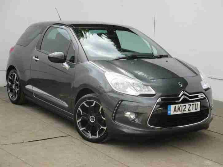 Citroen 2012 Ds3 1 6 E Hdi 115 Dstyle Diesel Grey Manual