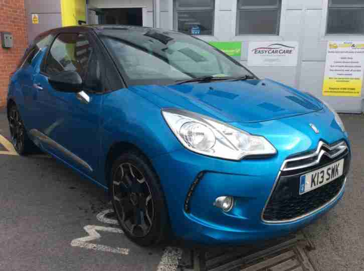 2012 Citroen DS3 DSTYLE PLUS Petrol blue Manual