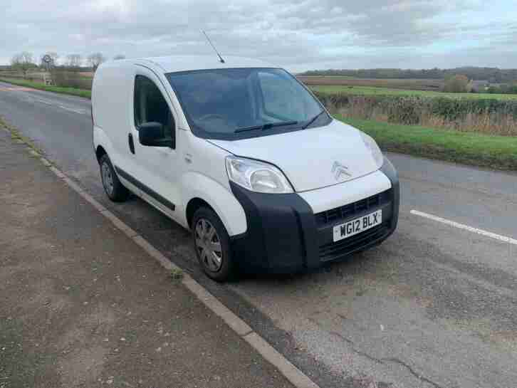 2012 Citroen Nemo 1.3HDi, long MOT, good for work.