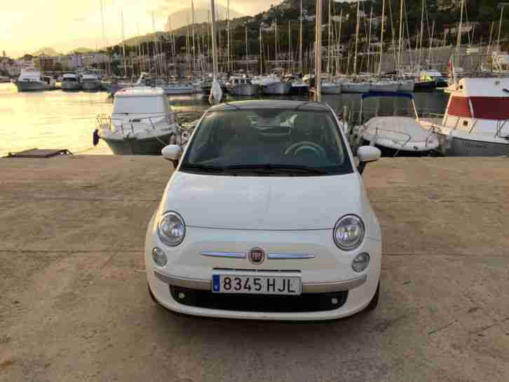 2012 FIAT 500 1.2 LOUNGE 3DR LHD IN SPAIN