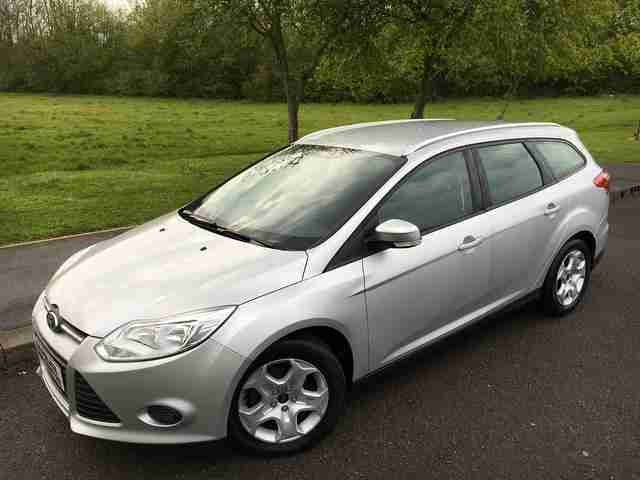 Ford Focus 1 6 Tdci Edge Silver Diesel Estate 1 Owner Fsh New Shape