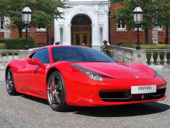 Ferrari 2012 458 Italia 2012 12 Petrol Red F1 Dct Car For