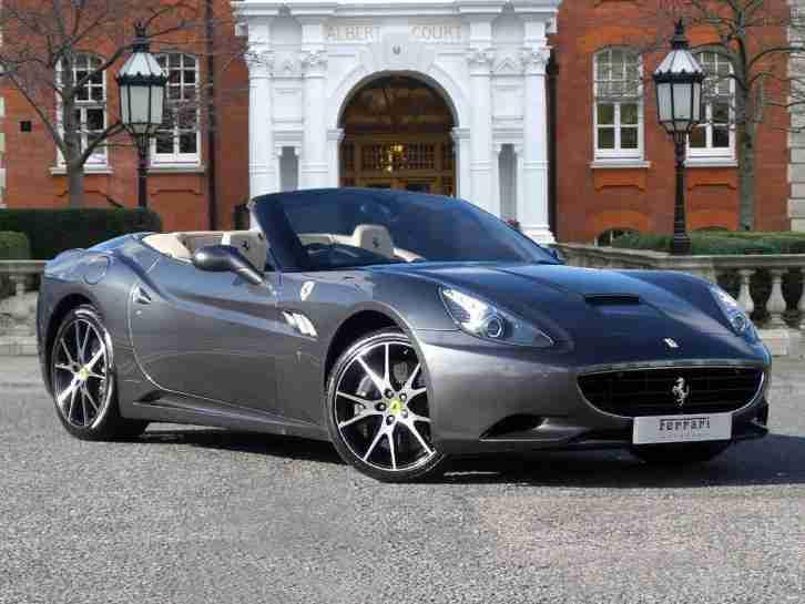 Ferrari california grey