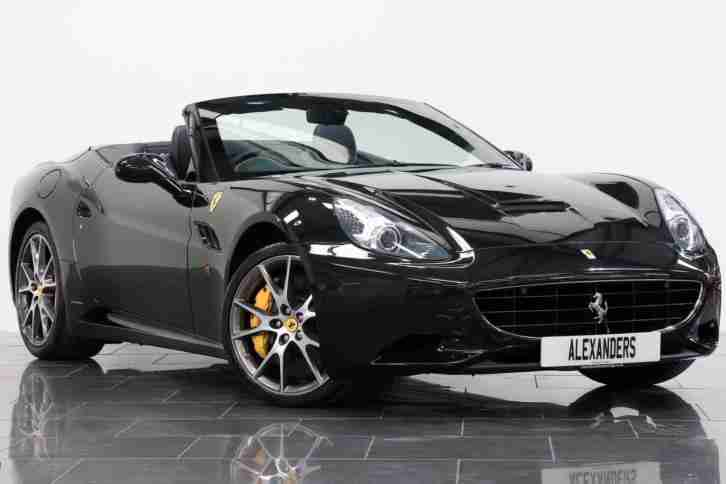 2012 Ferrari California 4.3 2+2 F1 Petrol black Automatic