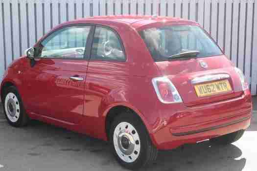 2012 Fiat 500 0.9 TwinAir Colour Therapy 3 door Petrol Hatchback
