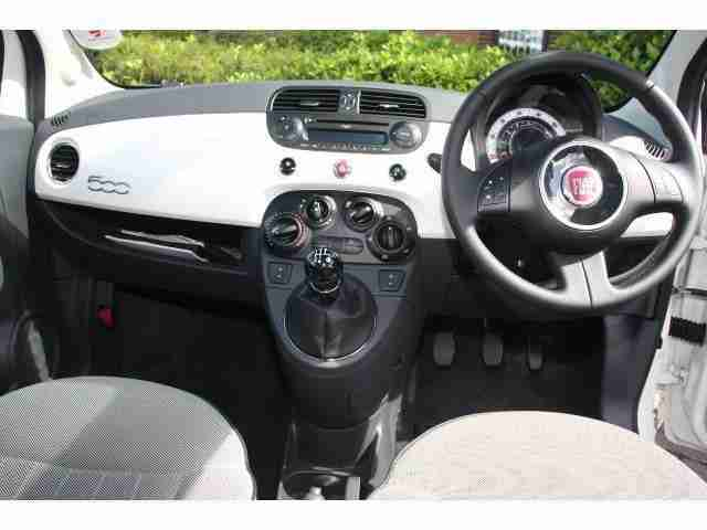 2012 Fiat 500 1.2 Lounge 3Dr [start Stop] Petrol Hatchback