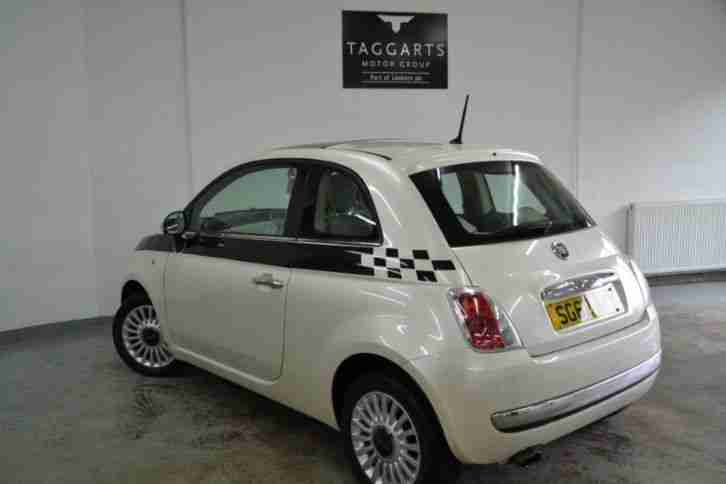 2012 Fiat 500 1.2 Lounge 3dr [Start Stop] Petrol Manual