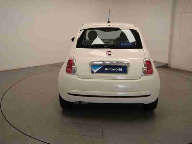 2012 Fiat 500 Pop rhd Petrol White Manual