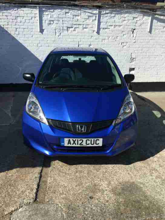 2012 HONDA JAZZ I-VTEC S AC BLUE 1 Owner From New