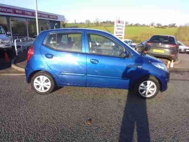 2012 HYUNDAI I10 ACTIVE Manual Hatchback