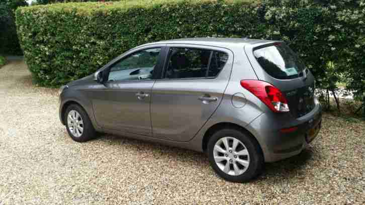 Hyundai I20. Hyundai car from United Kingdom