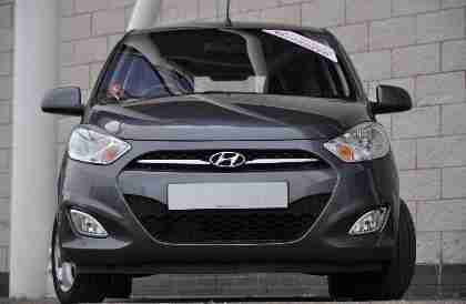 2012 Hyundai i10 1.2 Active Petrol Grey Manual