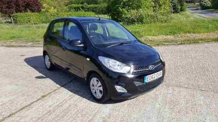 2012 Hyundai i10 Facelift 1.2 Style 5dr 1 Owner Full Main Dearel Service History