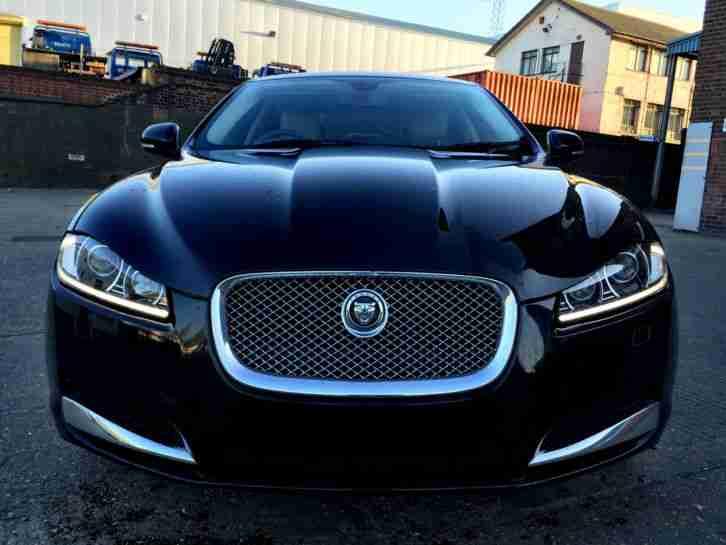Jaguar 2012 Xf Portfolio In Ultimate Black Auto Damaged Salvage