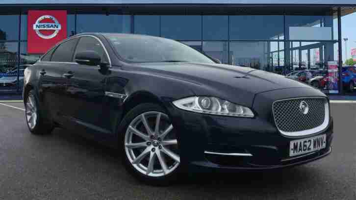 Jaguar XJ. Jaguar car from United Kingdom