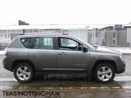 2012 Jeep Compass 2.0 Sport 154 BHP Grey Damaged Salvage CAT D