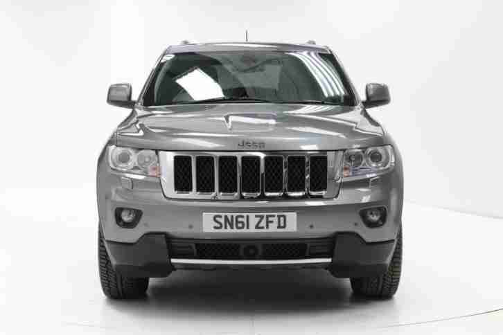 2012 Jeep Grand Cherokee 3.0 CRD Overland 5dr Auto Diesel grey Automatic