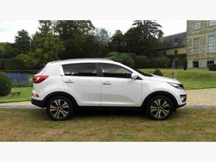 kia 2012 sportage kx 3 sat nav crd diesel white manual. Black Bedroom Furniture Sets. Home Design Ideas