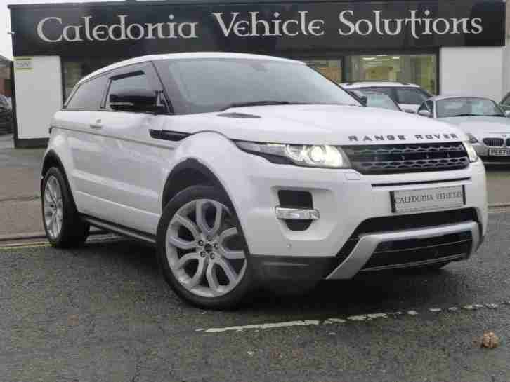 2012 land rover range rover evoque 2 2 sd4 dynamic coupe 4x4 3dr car for sale. Black Bedroom Furniture Sets. Home Design Ideas