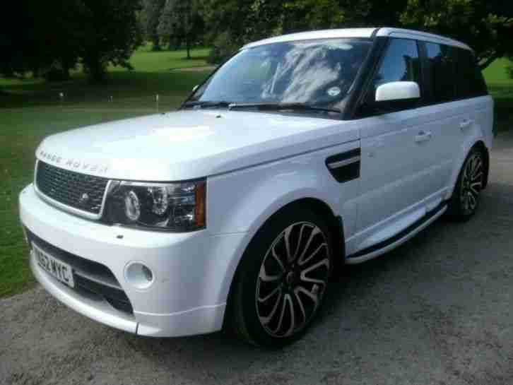 2012 land rover range rover sport sdv6 hse estate diesel car for sale. Black Bedroom Furniture Sets. Home Design Ideas
