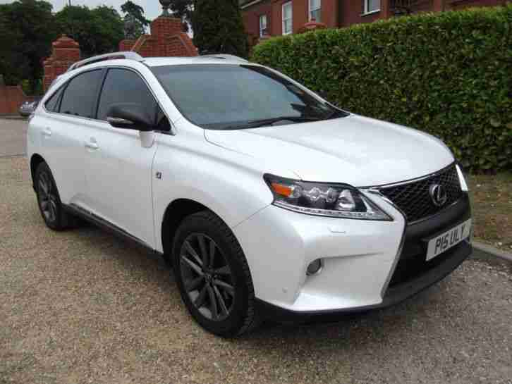 lexus 2012 rx 450h 450h f sport estate car for sale. Black Bedroom Furniture Sets. Home Design Ideas