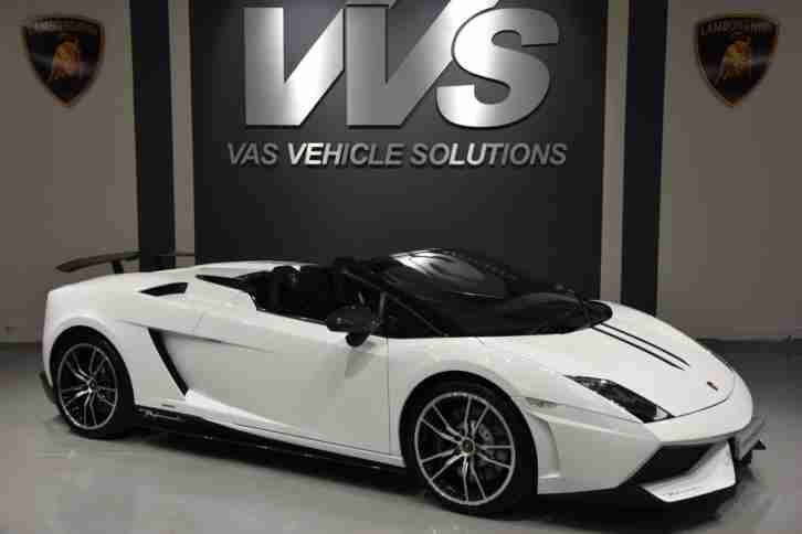 2012 Lamborghini GALLARDO LP 560-4 SPYDER HIGH SPEC Manual Convertible