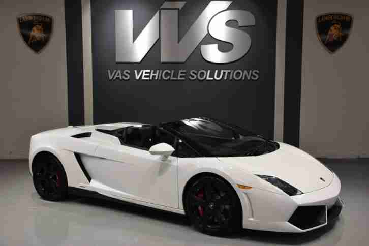 2012 Gallardo LP550 2 Spyder ONLY