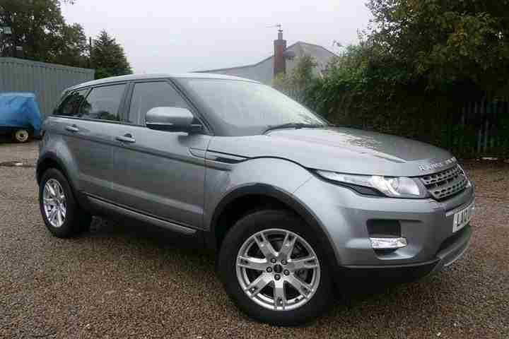 2012 Land Rover RANGE ROVER EVOQUE 2.2 SD4 Pure 5Dr Auto [tech Pac Diesel Grey A