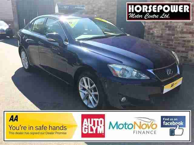 2012 Lexus IS 2.2 TD Advance 4dr Diesel blue Manual