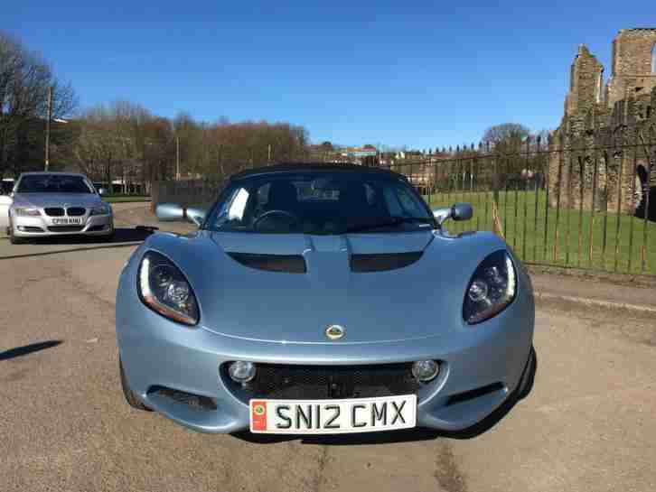 2012 Lotus Elise 1.6 Club Racer **8,000 Miles - Stunning Performance**