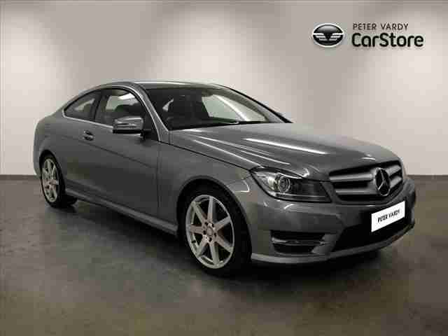 Mercedes Benz 2012 C Class Diesel Coupe Car For Sale